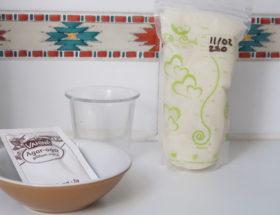 flan au lait maternel ingrédients