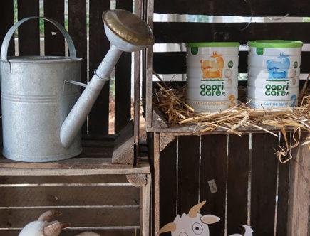 capricare lait de chèvre