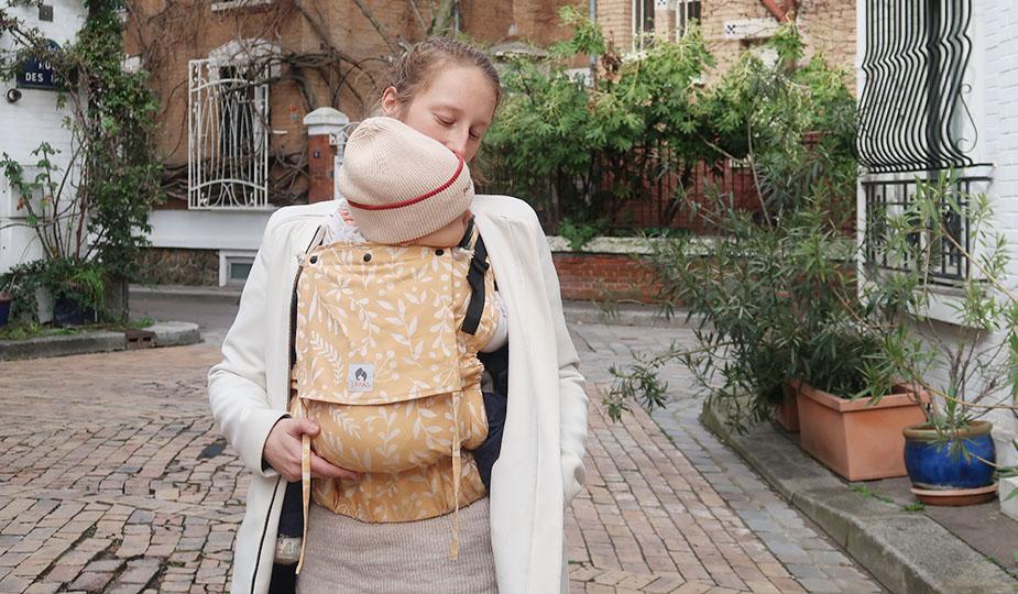 atelier portage porte bébé